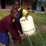 The Water Project: Kapkemich Primary School -  Handwashing Station