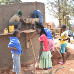 The Water Project: Mbuuni Primary School -  Tank Construction