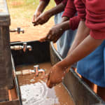 The Water Project: Mbuuni Primary School -  New Handwashing Stations