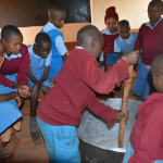 The Water Project: Mbuuni Primary School -  Soap Training