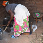The Water Project: Kala Community C -  Cooking Area