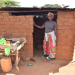 The Water Project: Kala Community C -  Standing At Kitchen