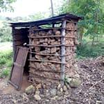 The Water Project: Hirumbi Community, Khalembi Spring -  Latrines