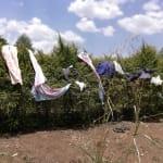 The Water Project: Rubana Yagilewo Community -  Clothesline