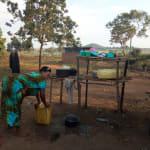 The Water Project: Rubana Yagilewo Community -  Dish Drying Rack