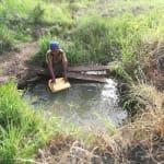 The Water Project: Rubana Yagilewo Community -  Fetching Water