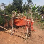 The Water Project: Rubana Yagilewo Community -  Latrine