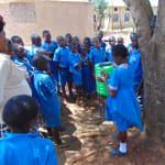 The Water Project: Kegoye Primary School -  Handwashing Training