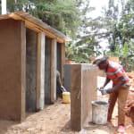 The Water Project: Kegoye Primary School -  Latrine Construction