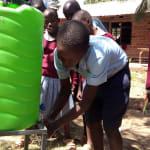 The Water Project: Kapkemich Primary School -  Handwashing Training