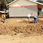 The Water Project: Ingwe Primary School -  Excavating For Tank Foundation