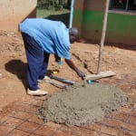The Water Project: Kigulienyi Primary School -  Tank Foundation
