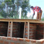 The Water Project: Kigulienyi Primary School -  Latrine Construction