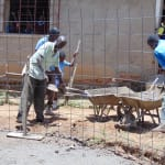 The Water Project: Kapkemich Primary School -  Tank Construction