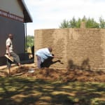 The Water Project: Ingwe Primary School -  Tank Construction