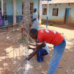 The Water Project: Kigulienyi Primary School -  Tank Construction