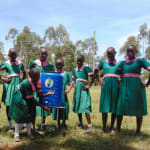 The Water Project: Kigulienyi Primary School -  Handwashing Station