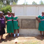 The Water Project: Kigulienyi Primary School -  Finished Latrines