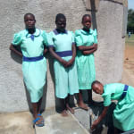 The Water Project: Ingwe Primary School -  Water Flowing