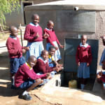 The Water Project: Kapkemich Primary School -  Celebrating Water In The Tank