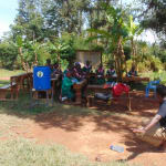 The Water Project: Kigulienyi Primary School -  Discussing Solar Disinfection