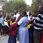 The Water Project: Kapkemich Primary School -  Training On Tank Care