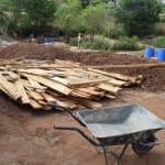 The Water Project: Kathungutu Community -  Construction Materials