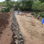 The Water Project: Kathungutu Community -  Dam Construction