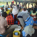 The Water Project: Kathungutu Community -  Soapmaking