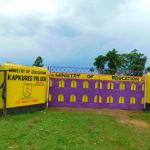 The Water Project: Kapkures Primary School -  Kapkures Primary School Gate