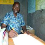 The Water Project: Kapkures Primary School -  Head Teacher Mr Japheth K Maiyo