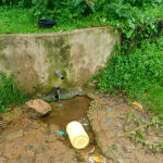 The Water Project: Kapkures Primary School -  Current Water Source