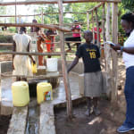 The Water Project: Elukho Community A -  Field Officer Terry Interviews Margaret