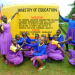 The Water Project: Kapkures Primary School -  Girls With School Mission