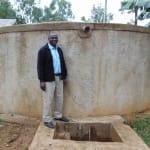 The Water Project: Bumuyange Primary School -  Head Teacher Francis Shibira