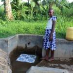 The Water Project: Mukhangu Community, Okumu Spring -  Lucy Imali