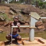 The Water Project: Maluvyu Community E -  Thumbs Up For The Well