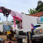 The Water Project: DEC Mahera Primary School -  Clothesline