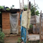 The Water Project: DEC Mahera Primary School -  Latrine And Bath Shelter