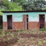 The Water Project: DEC Mahera Primary School -  Old School Latrine