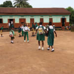 The Water Project: DEC Mahera Primary School -  Students Outside