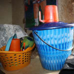 The Water Project: DEC Mahera Primary School -  Water Storage Containers