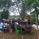 The Water Project: Rubana Yagilewo Community -  Community Members At The Training