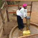 The Water Project: Rubana Yagilewo Community -  Kunihira Roselyne At The Well