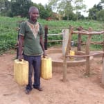 The Water Project: Rubana Yagilewo Community -  Kyaligonza Vincent At The Water Well