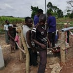 The Water Project: Rubana Yagilewo Community -  Pump Installation