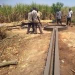 The Water Project: Rubana Yagilewo Community -  Trench