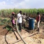 The Water Project: Rubana Yagilewo Community -  Yield Test