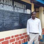 The Water Project: Saride Primary School -  Senior Teacher Moses Mugambi