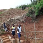 The Water Project: Hirumbi Community, Khalembi Spring -  Working Together